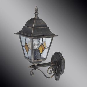 Уличный настенный светильник Brilliant 43881/86 уличный светильник 16271 86 16 philips