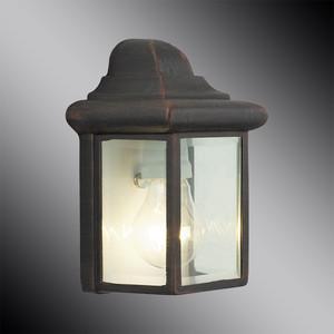 Уличный настенный светильник Brilliant 44280/55 уличный настенный светильник brilliant roger 41181 55