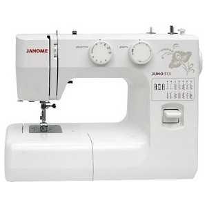 Швейная машина Janome Juno 513 стерлитамак магазин швейные машины купить