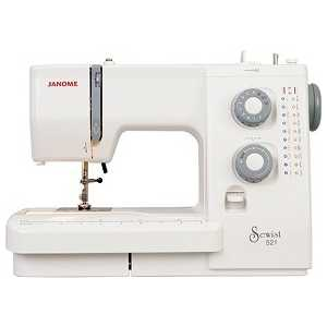 Фотография товара швейная машина Janome 521 (50425)