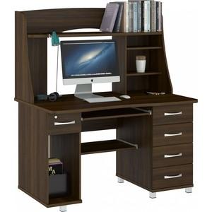 Стол компьютерный ВасКо КС 20-08 М1 - орех валенсия стол компьютерный васко кс 20 30 м1 дуб сонома