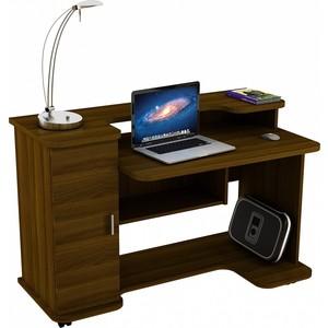 Стол компьютерный ВасКо КС 20-12 - орех валенсия письменный стол васко соло 021
