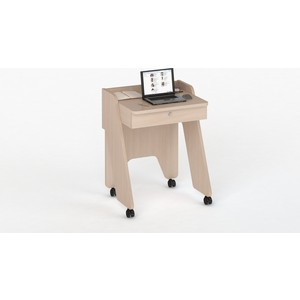 Стол компьютерный ВасКо КС 20-13 нотик - дуб молочный