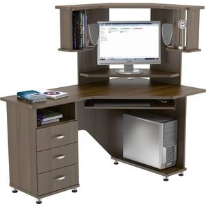 Стол компьютерный ВасКо КС 20-18 М2 - орех валенсия