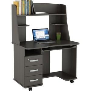 Стол компьютерный ВасКо КС 20-21 М2 - венге компьютерный стол васко kc 20 06 м1 венге шатура столы и стулья