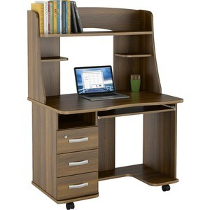 Стол компьютерный ВасКо КС 20-21 М2 - орех валенсия компьютерный стол кс 20 16м3