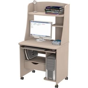 Стол компьютерный ВасКо КС 20-22 М2 - дуб молочный компьютерный стол кс 20 43 дуб молочный шатура столы и стулья