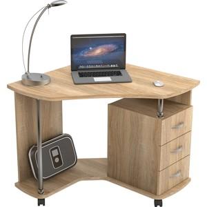 Стол компьютерный ВасКо КС 20-25 - дуб сонома письменный стол васко соло 021