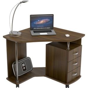 Стол компьютерный ВасКо КС 20-25 - орех валенсия письменный стол васко соло 021