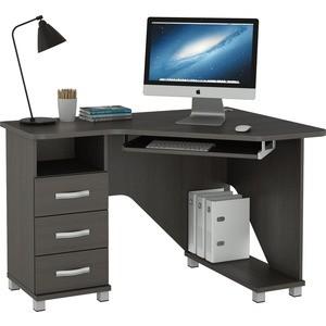 Стол компьютерный ВасКо КС 20-28 М1 - венге стол компьютерный васко кс 20 30 м1 дуб сонома