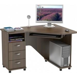 Стол компьютерный ВасКо КС 20-28 М1 - орех валенсия стол компьютерный васко кс 20 30 м1 дуб сонома