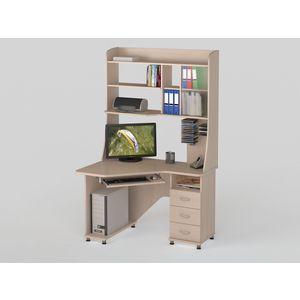Стол компьютерный ВасКо КС 20-29 М1 - дуб молочный васко стол компьютерный кс 2032 м1 венге