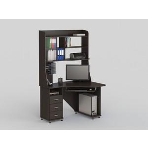 Стол компьютерный ВасКо КС 20-30 М1 - венге стол компьютерный васко кс 20 30 м1 дуб сонома