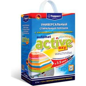 Стиральный порошок Topperr Automat active oxy waschmittel Концентрированный универсальный с кислородным пятновыводителем