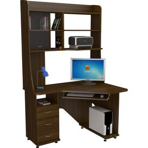 Стол компьютерный ВасКо КС 20-30 М1 - орех валенсия стол компьютерный васко кс 20 30 м1 дуб сонома