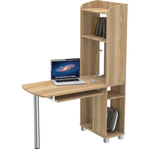 Стол компьютерный ВасКо КС 20-31 М1 - дуб сонома компьютерный стол васко kc 20 06 м1 венге шатура столы и стулья