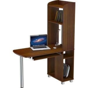 Стол компьютерный ВасКо КС 20-31 М1 - орех валенсия стол компьютерный васко кс 20 30 м1 дуб сонома
