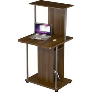 Стол компьюте��ный ВасКо КС 20-32 М1 - орех валенсия стол компьютерный васко кс 20 30 м1 дуб сонома
