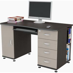 Стол компьютерный ВасКо КС 20-39 - венге/дуб мол