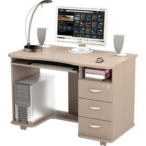 Стол компьютерный ВасКо КС 20-40 - дуб молочный письменный стол васко соло 021