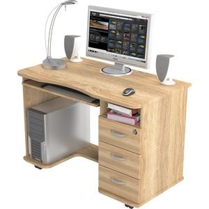 Стол компьютерный ВасКо КС 20-40 - дуб сонома письменный стол васко соло 021