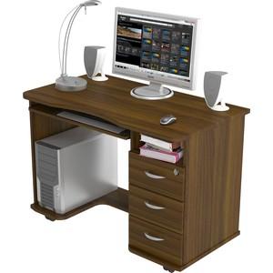 Стол компьютерный ВасКо КС 20-40 - орех валенсия стол компьютерный васко кс 20 30 м1 дуб сонома