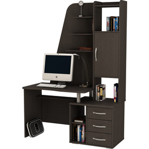 Стол компьютерный ВасКо КС 20-43 - венге компьютерный стол васко kc 20 06 м1 венге шатура столы и стулья