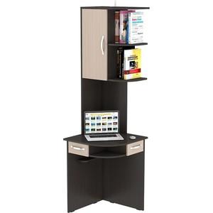 Стол компьютерный ВасКо КС 20-44 - венге/дуб молочный