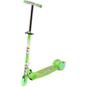 Самокат 3-х колесный Leader Kids (JC-640 green) самокат leader kids jc 200 blue