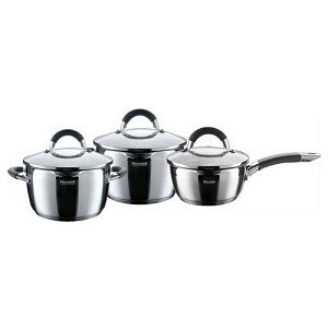 Набор посуды Rondell RDS-341 кастрюля 24 см 6 5 л н с 18 10 термоаккум дно ст кр мет руч