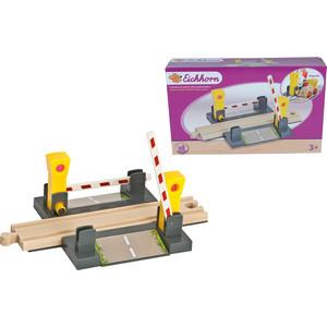 Игровой набор Eichhorn ЖД переезд с магнитным шлагбаумом (100001506)