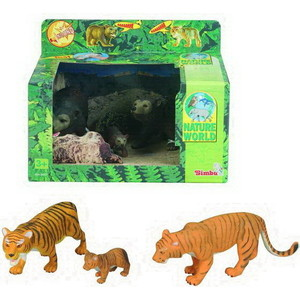 Фигурка Simba Семейство тигров и медведей (4345637)*