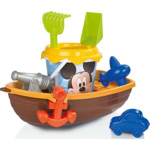 Игровой набор Smoby лодка и набор для песка Mickey (69407)