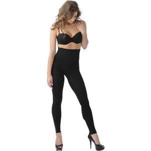 Леггинсы корректирующие Belly Bandit Mother Tucker Black S (40-44) майка утягивающая belly bandit mother tucker scoop neck black m 46 48 898997002967
