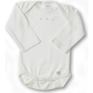 Боди SwaddleDesigns с длинным рукавом 6-12 месяцев (SD-221PP-6M) lovely striped rompers для baby cotton baby girl одежда мальчик костюм для пижамы 1 3 6 9 месяцев с длинным рукавом весна осень