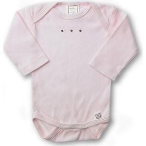 Боди SwaddleDesigns с длинным рукавом 6-12 месяцев (SD-209PP-6M) lovely striped rompers для baby cotton baby girl одежда мальчик костюм для пижамы 1 3 6 9 месяцев с длинным рукавом весна осень