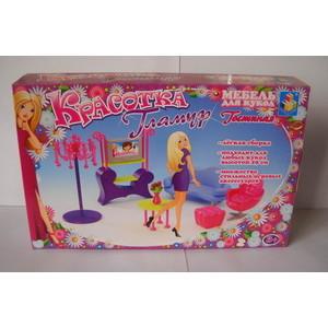 цены Набор мебели 1Toy для кукол гостиная Т54504
