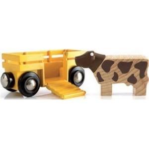 Brio Вагон с коровой (33406)