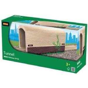 Деревянный туннель Brio с рельсами (33735)