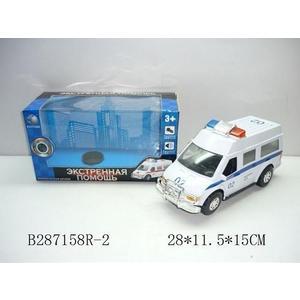 Машинка 1Toy милиция В71648