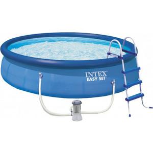 Надувной бассейн Intex (с28166) складной бассейн intex 56453 рыбы 244x46