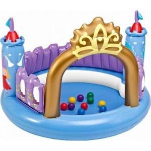 Надувной бассейн Intex с шариками Волшебный замок с48669 NP