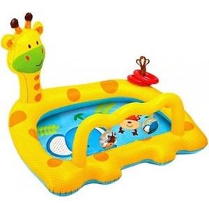 Надувной бассейн Intex улыбающийся жираф c57105/57105NP