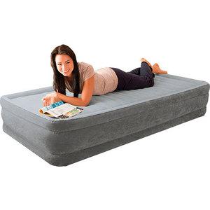 Надувной матрас Intex комфорт плюш (с67766) кровать intex comfort plush со встроенным насосом 220в intex 67766