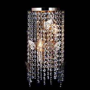 Бра Eurosvet 10015/2 золото/прозрачный хрусталь Strotskis настенный светильник eurosvet 10015 2 золото прозрачный хрусталь strotskis