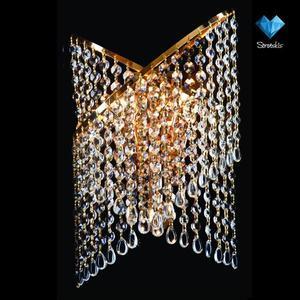 Бра Eurosvet 3105/3 золото/прозрачный хрусталь Strotskis потолочный светильник eurosvet 3123 3 золото прозрачный хрусталь strotskis