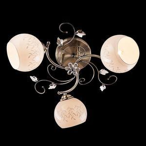 Потолочная люстра Eurosvet 30006/3 античная бронза