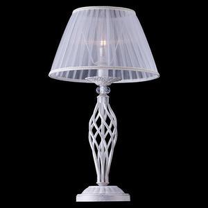 Настольная лампа Eurosvet 01002/1 белый с золотом цена
