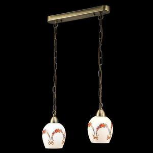 Подвесной светильник Eurosvet 50030/2 античная бронза подвесной светильник eurosvet 50030 2 античная бронза