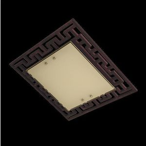 Потолочный светильник Eurosvet 2870/3 хром/венге потолочный светильник eurosvet 2762 3 венге